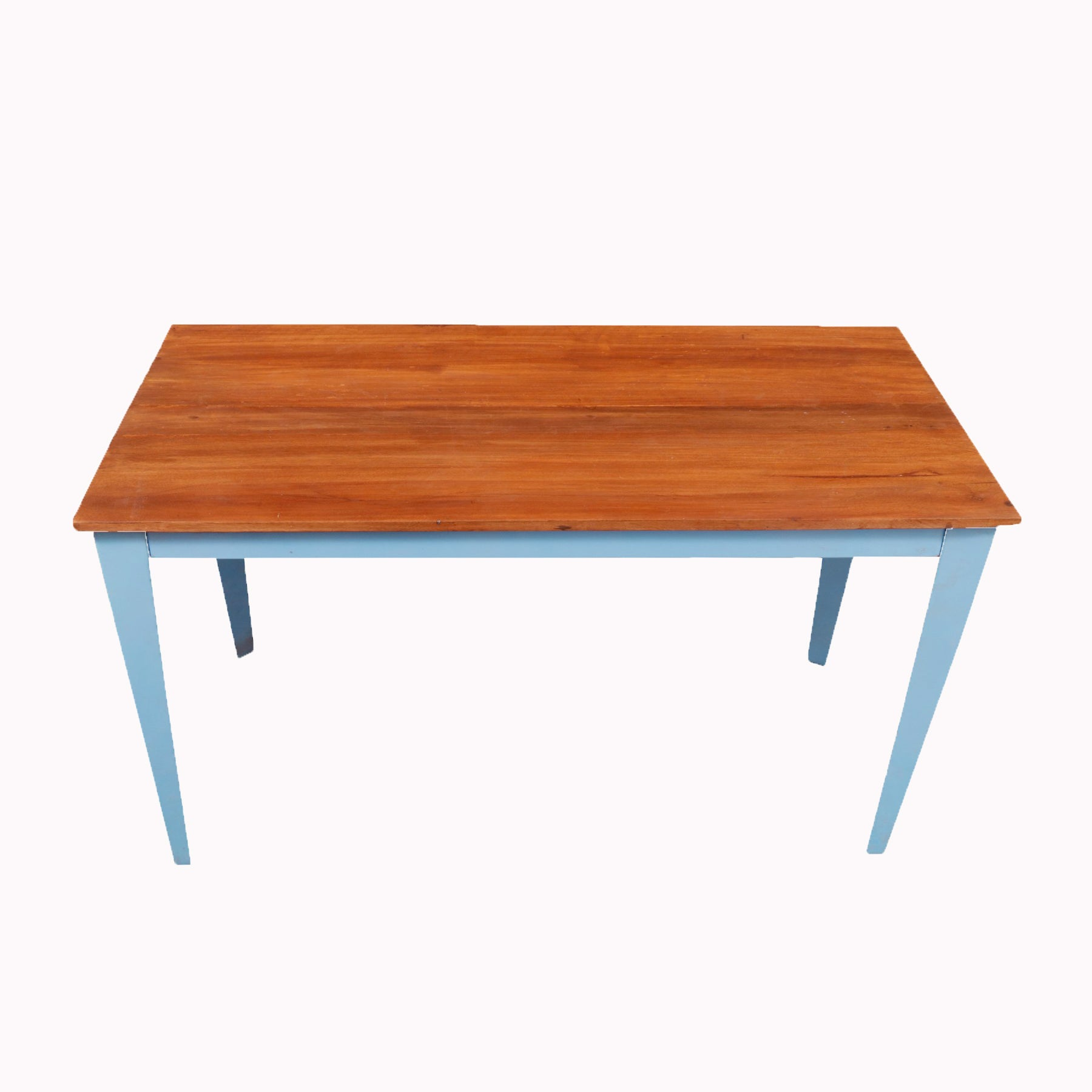 Blue Legged Coffee Table