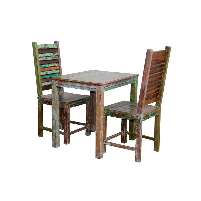 Outdoor Distressed Dining Set - Woodsala