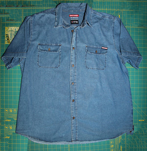 Mars-1 Denim Craftsman Button Up