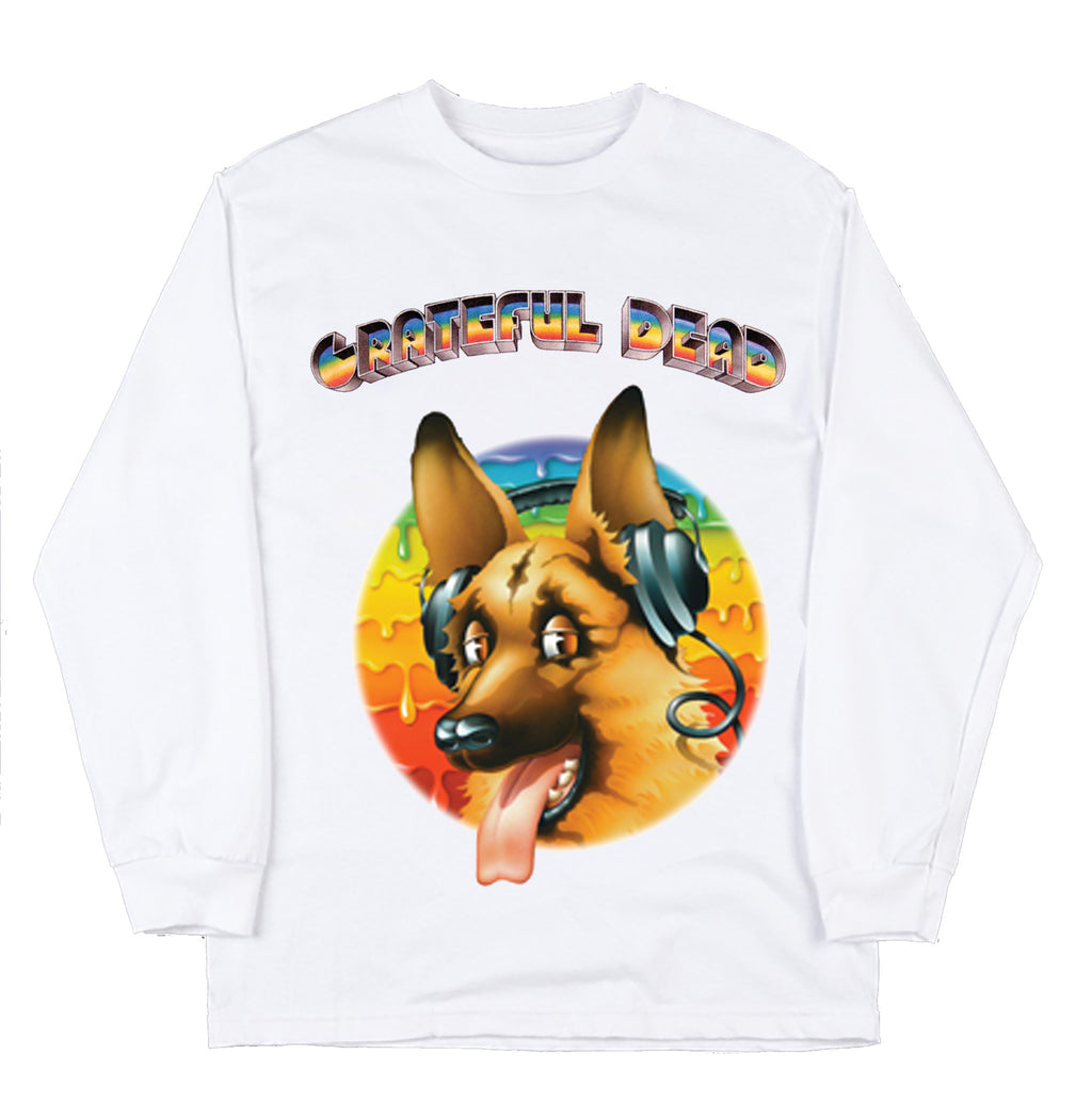 "Long Sleeve Europe '72  ""Grateful Dog"" Hamburg"