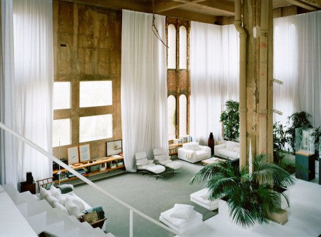Transformation of an Old Cement factory into a Beautiful Characteristic Home