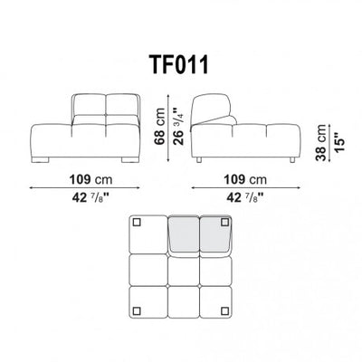 Right End | Right Module | TF011