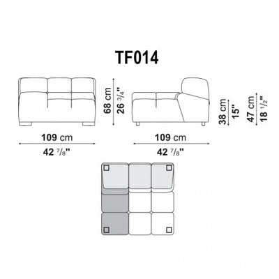 Right Armrest | Right Module | TF014