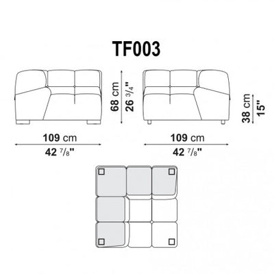 Right Corner | Right Module | TF003