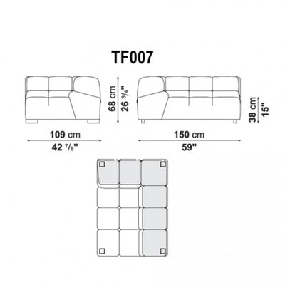 Large Right Corner | Right Module | TF007
