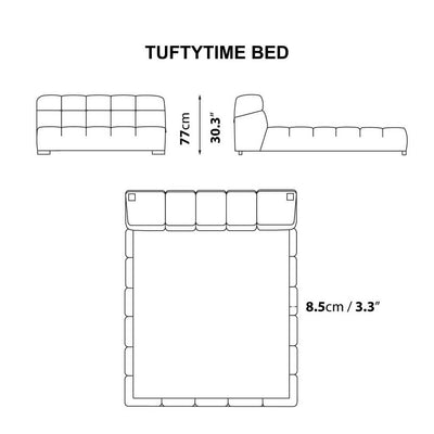 TUFTYTIME BED - CALIFORNIA KING SIZE