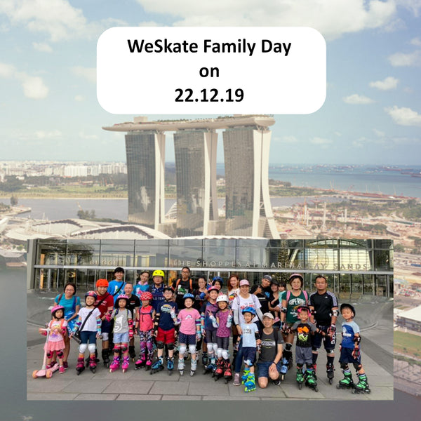 WeSkate Family Day December 2019