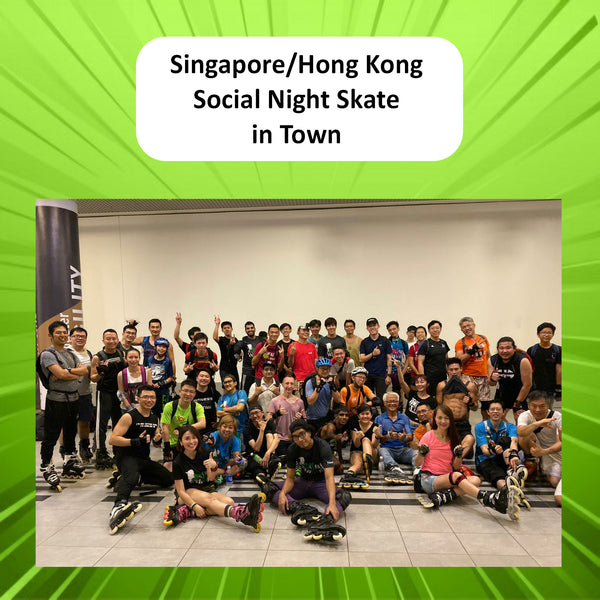 Singapore/Hong Kong Social Night Skate Gallery