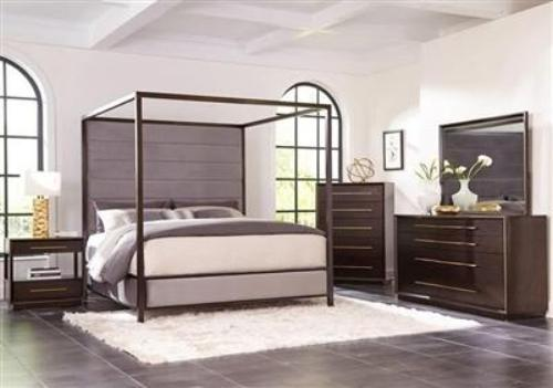 Luddington Canopy Bed 6 Piece Bedroom Set by Scott Living