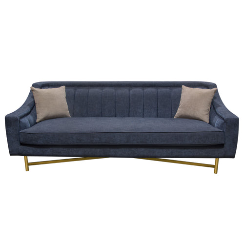 Croft Sofa and Chair Collection in Naval Blue