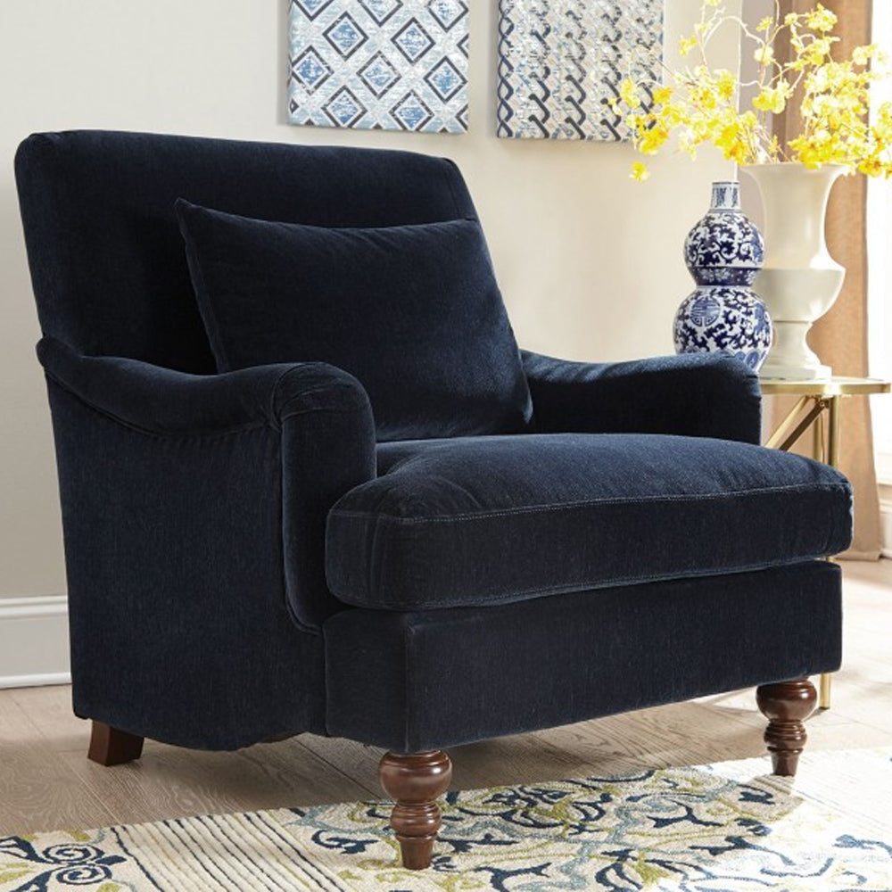 Coaster Accent Chair in Midnight