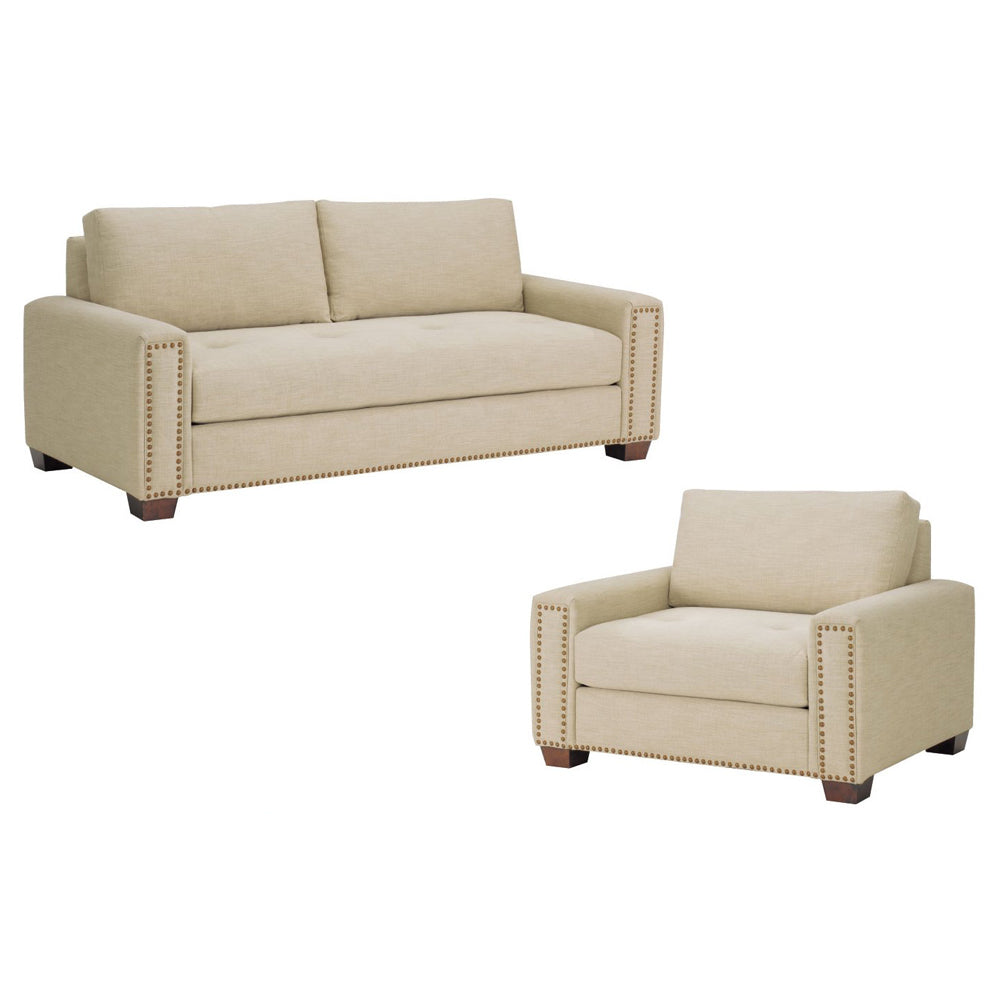 Thompson Sofa Collection in Khaki