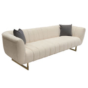 Venus Sofa and Chair Collection in Cream