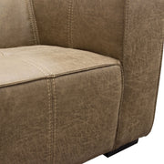 Westwood Sofa Collection in Chocolate w/ Contrast Stitching