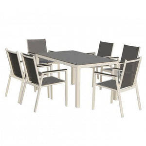 Wave 7 Piece Dining Set