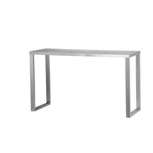 Clark Console Brushed Metal