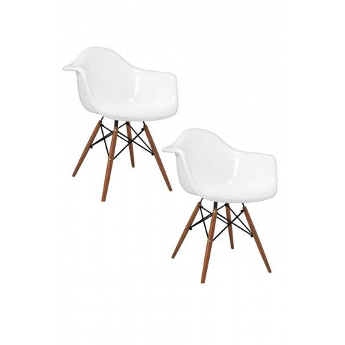 Daphney Arm Chair White