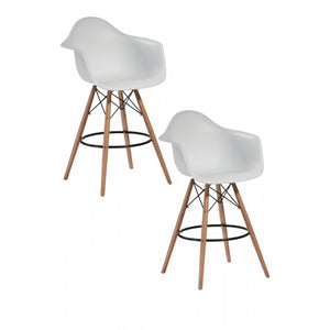 Daphney Bar Stool White