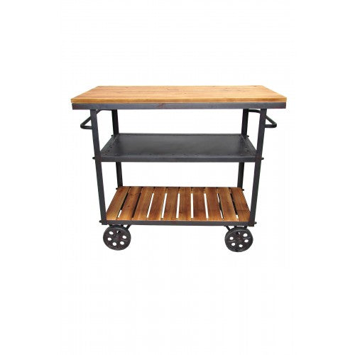 Don Bar Cart Dark Gray