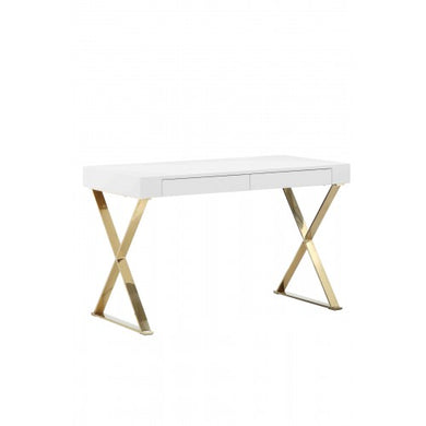 Gold Alexa Desk