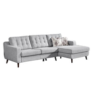 Jordana Sectional Sofa in Barley Grey