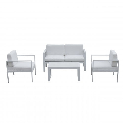 Karen Sofa Set White
