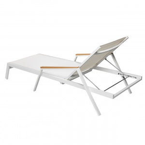 Sail Lounger White