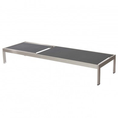Sally Lounger Brushed Frame