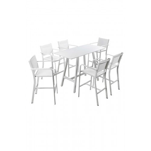 Sunset 7 Piece Bar Set