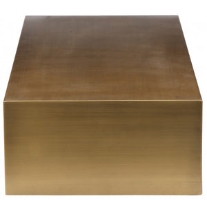 Spencer Coffee Table Brass