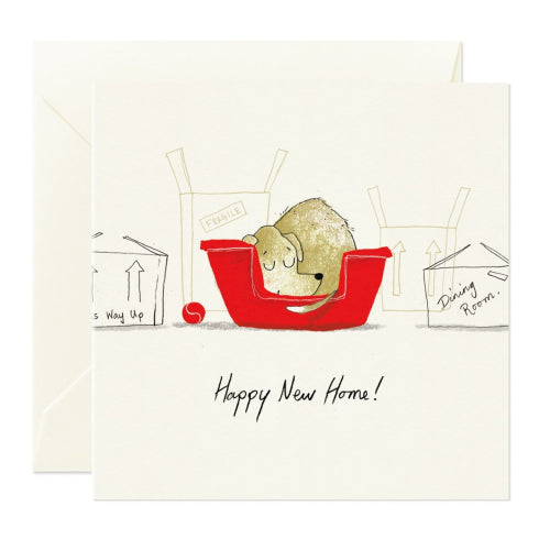 Card Nest Greeting Card - Happy New Home!