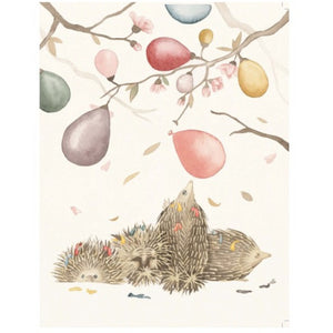 Squirrel Design Studio Greeting Card - With a Bang