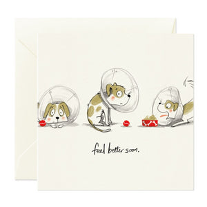 Card Nest Greeting Card - Feel Better Soon