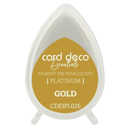 Card Deco Essentials Pearlescent Pigment Ink - Gold