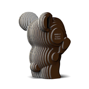Eugy 3D Paper Model - Brown Bear