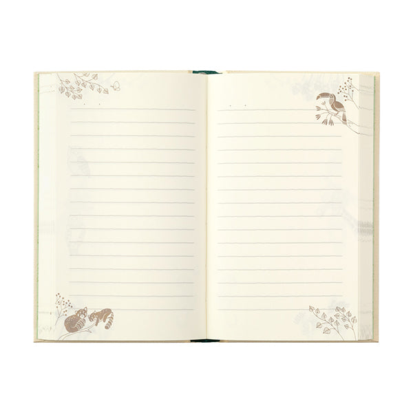 Midori Page-a-Day Journal - Animals