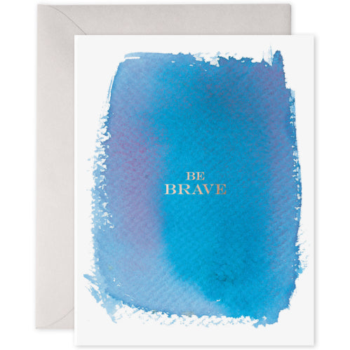 E Frances Greeting Card - Be Brave