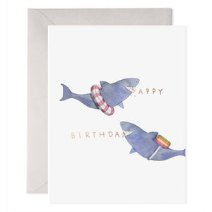 E Frances Greeting Card - Bitten Birthday