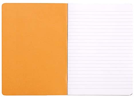Rhodia Cahier Notebook - Ruled, A4, Orange