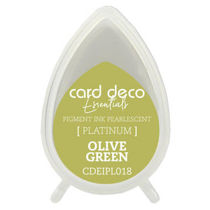 Card Deco Essentials Pearlescent Pigment Ink - Olive Green