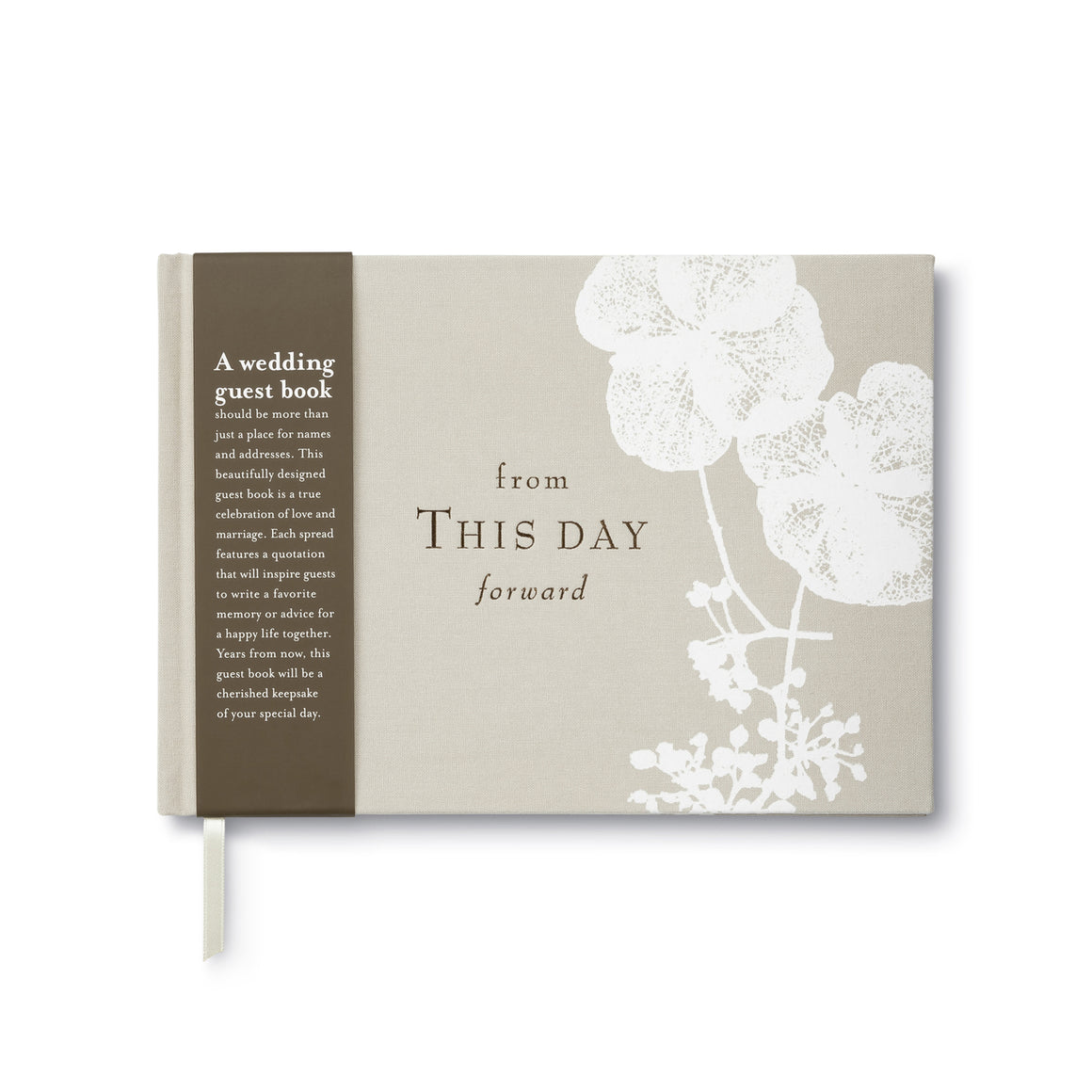Compendium Wedding Guest Book - From This Day Forward