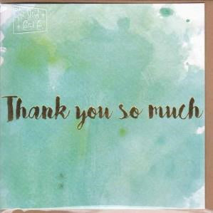 Paper Street Greeting Card - Thank You So Much