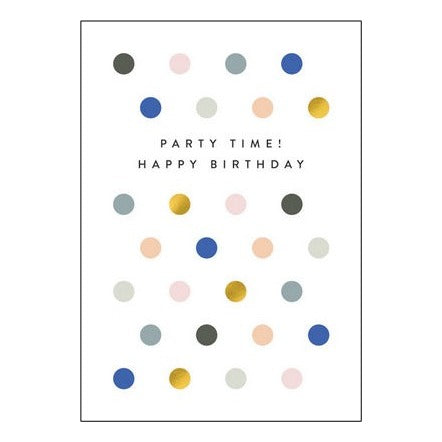 The Art File Greeting Card - Balance Collection, Party Time!