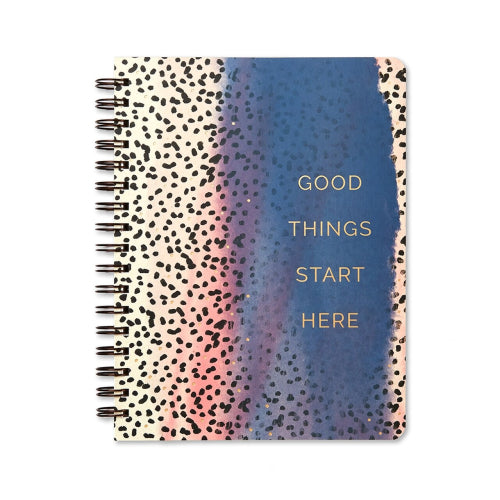 Compendium Wire-O Notebook - Good Things Start Here