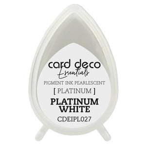 Card Deco Essentials Pearlescent Pigment Ink - Platinum White