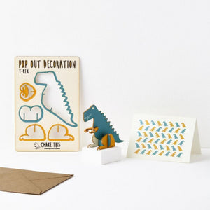 Pop Out Card - T-Rex