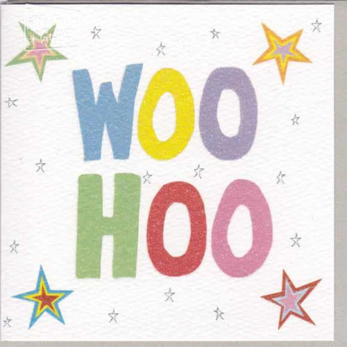 Paper Street Greeting Card - Woo Hoo
