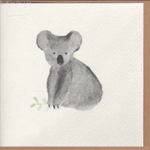 Paper Street Greeting Card - Koala