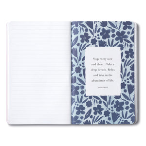 Compendium Write Now Journal - Dwell on the Beauty of Life