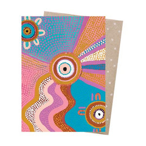 Natalie Jade Greeting Card - Between Two Worlds